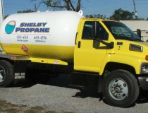 Shelby Propane Truck
