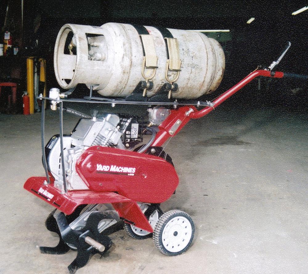 propane-tiller