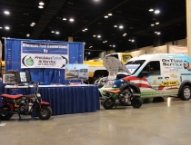 World of Wheels Booth