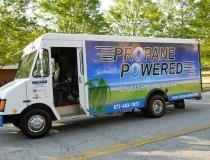 Precision Sales & Service Van