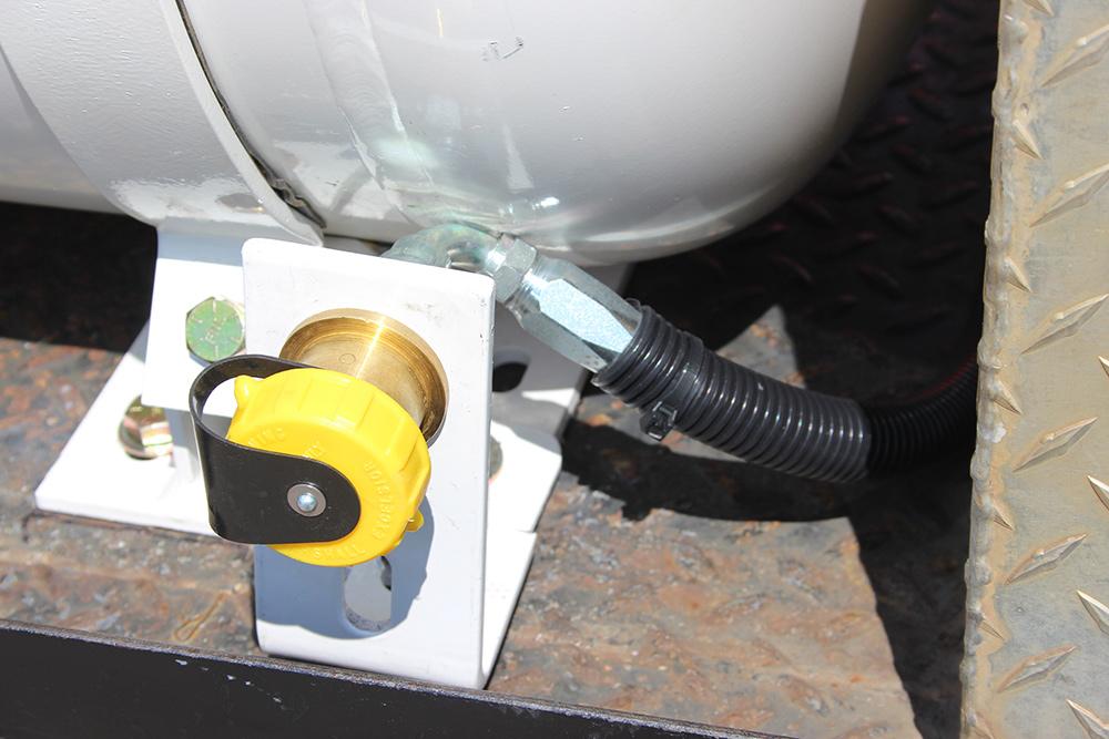 propane fuel fill valve