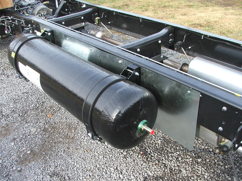 CNG Tank on Workhorse Chassis